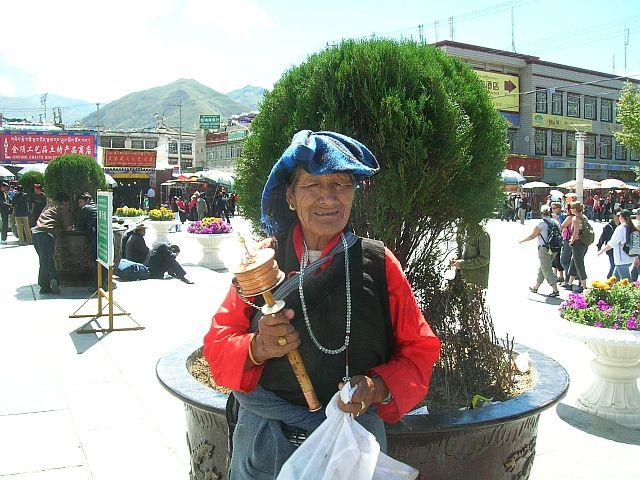 Zdjęcia: Lhasa, Pielgrzymi 6, TYBET