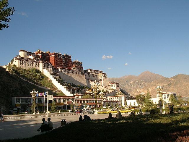 Zdjęcia: Lhasa, Pałac Potala 2, TYBET