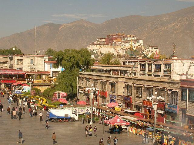 Zdjęcia: Lhasa, Pałac Potala 4, TYBET
