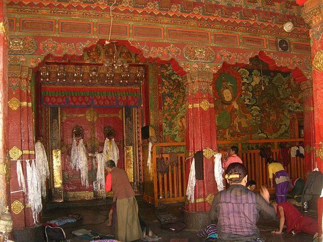 Zdjęcia: Lhasa, Świątynia Jokhang 3, TYBET