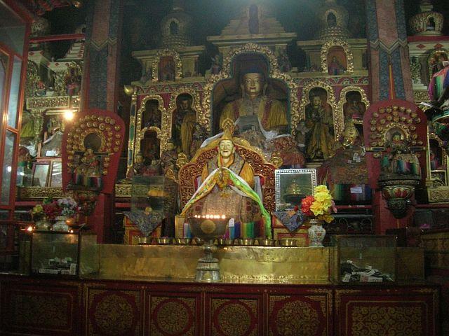 Zdjęcia: Okolice Lhasy, Klasztor Drepung 1, TYBET