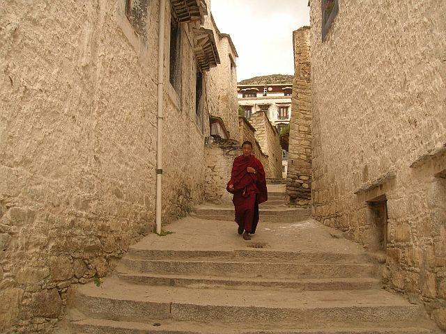 Zdjęcia: Okolice Lhasy, Klasztor Drepung 4, TYBET