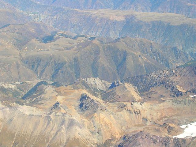 Zdj�cia: Tybet po�udniowo - wschodni, TYbet z lotu ptaka 2, TYBET