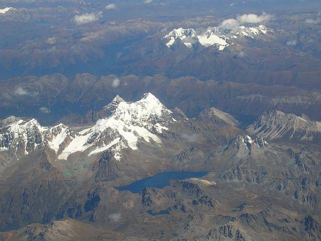 Zdj�cia: Tybet po�udniowo - wschodni, Tybet z lotu ptaka 3, TYBET