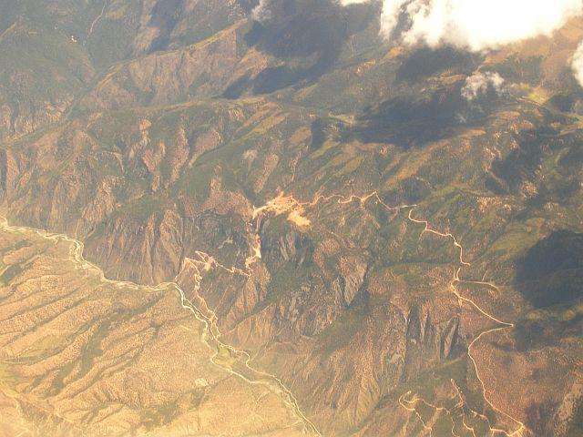 Zdjęcia: Tybet południowo - wschodni, Tybet z lotu ptaka 4, TYBET