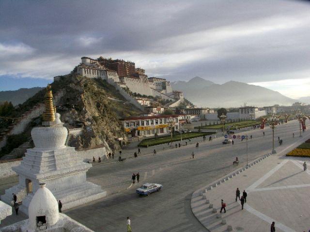 Zdjęcia: j.w, Lhasa, Pałac Potala, TYBET