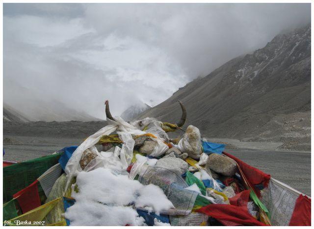 Zdjęcia: Everest Base Camp, Himalaje, Na punkcie widokowym, TYBET