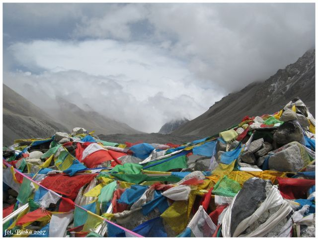 Zdjęcia: Everest Base Camp, Himalaje, Zamiast Everestu..., TYBET