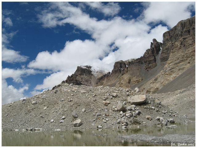 Zdj�cia: Base camp, Himalaje, Chmury, g�ry..., TYBET