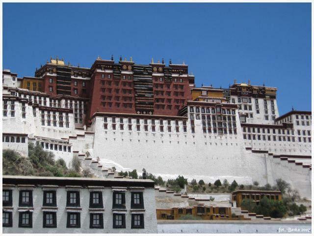 Zdjęcia: Lhasa, Tybet, Pałac Potala, TYBET