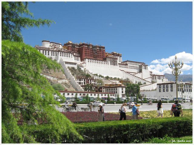 Zdjęcia: Lhasa, Tybet, Potala, TYBET