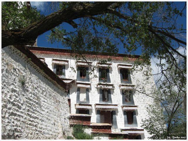 Zdjęcia: Lhasa - Potala, Tybet, Okienka, TYBET