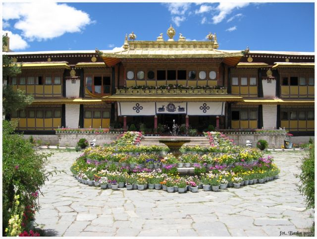 Zdj�cia: Lhasa, Tybet, Norbulinka, TYBET