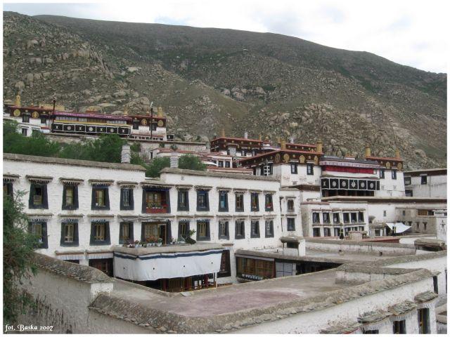 Zdj�cia: okolice Lhasy, Tybet, Drepung, TYBET