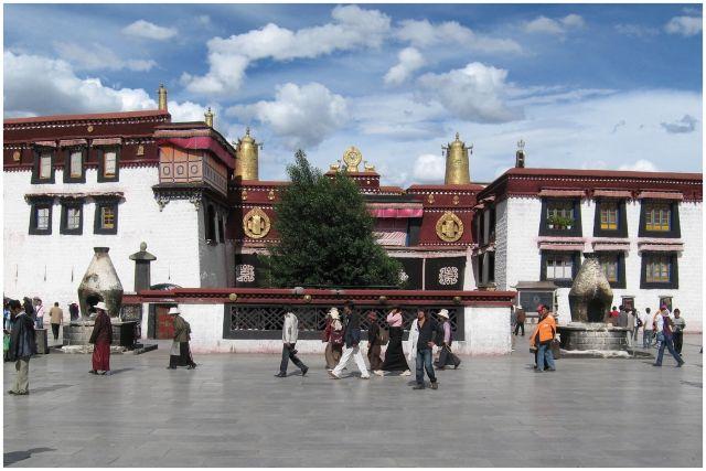 Zdjęcia: Lhasa - Jokhang, Tybet, Jokhang, TYBET