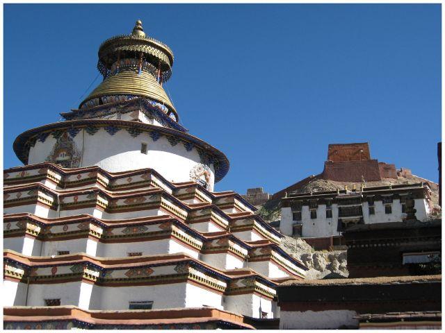 Zdjęcia: Gyantse, Tybet południowy, Palkhor, TYBET
