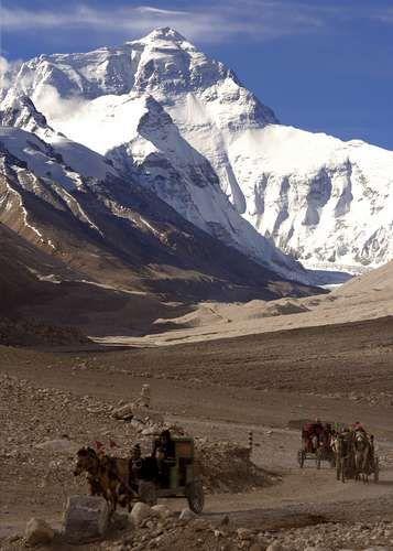 Zdjęcia: Mt Everest, Pod Everestem, TYBET