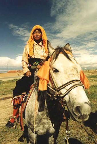 Zdjęcia: w drodze do Lhasy, Podwójny portret, TYBET