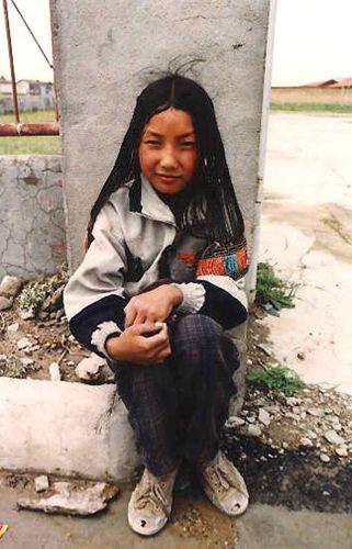 Zdjęcia: w drodze do Lhasy, Z pewną nieśmiałością..., TYBET