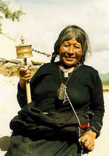 Zdjęcia: Lhasa, Uśmiech za 5 yuanów, TYBET
