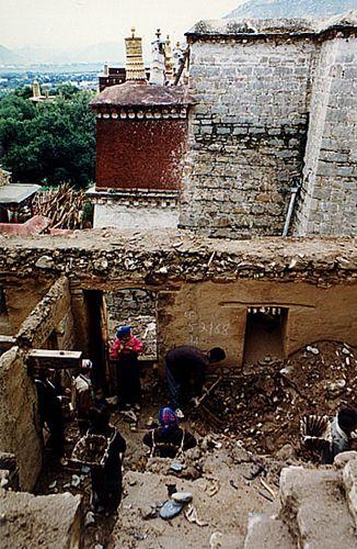 Zdjęcia: Lhasa, Ślady dawnej świetności, TYBET
