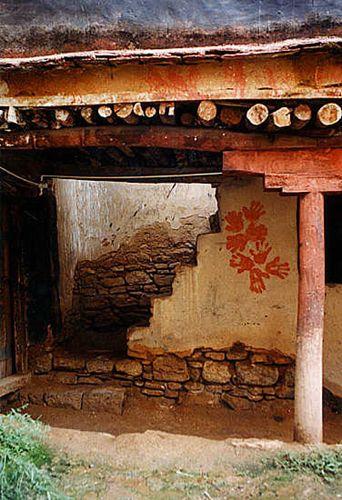 Zdjęcia: Lhasa, stara zabudowa stolicy, TYBET