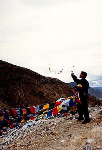 Zdjęcia: Lhasa, Poranne rytuały religijne, TYBET