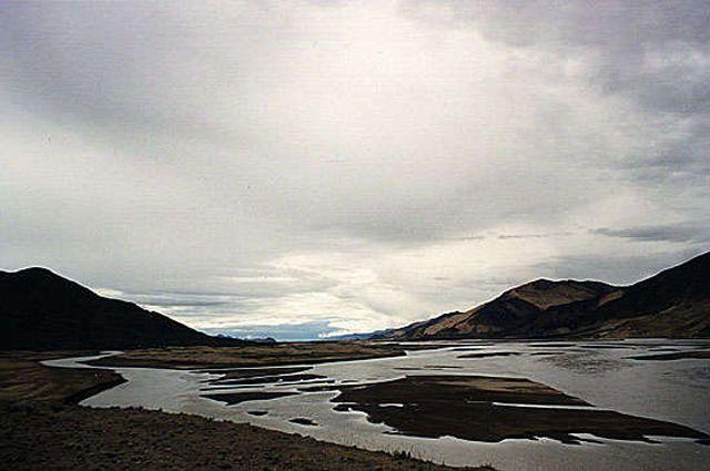 Zdjęcia: Przełłęcz Gyatso (5220m.n.p.m.), gdyby nie chmury, zobaczyłbym Everest..., TYBET