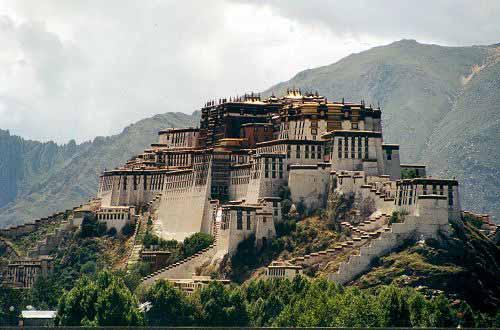 Zdjęcia: Lhasa, Tybet Południowy, Pałac Potala, TYBET