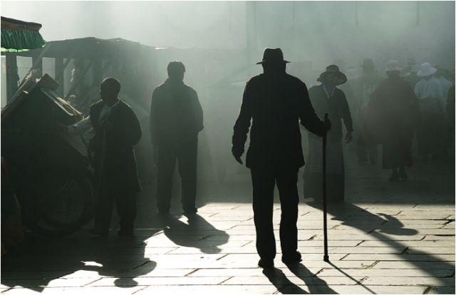 Zdjęcia: Lhasa, spotkania?, TYBET