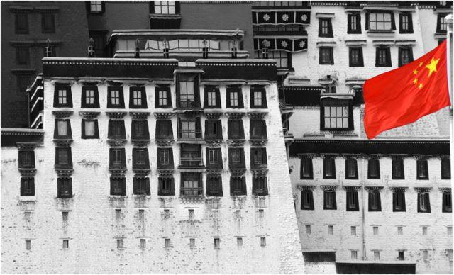 Zdjęcia: Lhasa, wladza, TYBET