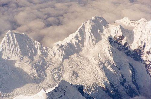 Zdjęcia: Widok z samolotu, Transhimalaje z lotu ptaka, TYBET