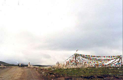 Zdjęcia: Przełęcz Pong-La, Tybet Południowy, Przełęcz Pong-La, TYBET