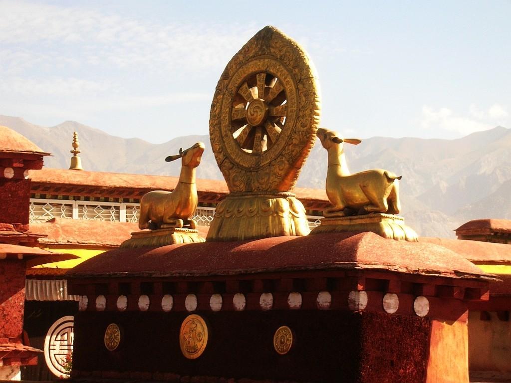 Zdjęcia: Lhasa, Lhasa, świątynia Jokhang, TYBET