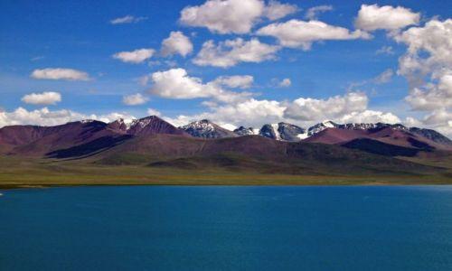 Zdjecie TYBET / Tybet / Tybet / Jezioro w Tybecie
