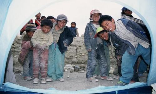 Zdjecie TYBET / Tybet  / Wioska Tsogo  / Chwila intymno�