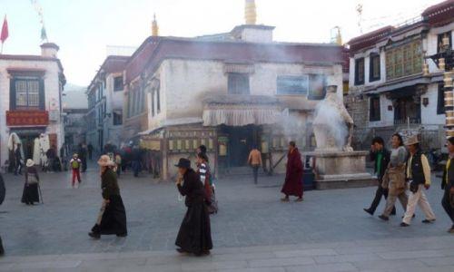 Zdjęcie TYBET / Lhasa  / nn / Kolej Tybetańska
