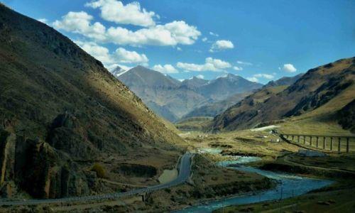 Zdjecie TYBET / okolica Lhasy / nn / Kolej Tybetańska