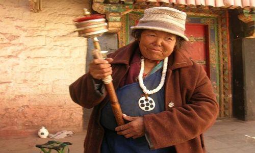 TYBET / brak / Lhasa / Pielgrzym 4