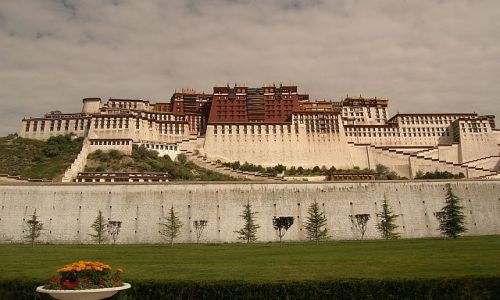 TYBET / brak / Lhasa / Pałac Potala 1