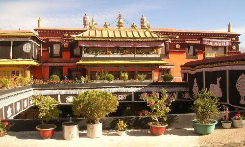 Zdjęcie TYBET / brak / Lhasa / Świątynia Jokhang 1