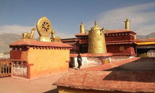 Zdjecie TYBET / brak / Lhasa / Świątynia Jokhang 2