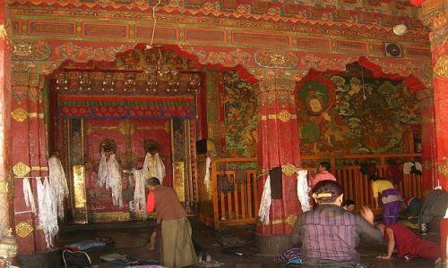 TYBET / brak / Lhasa / Świątynia Jokhang 3