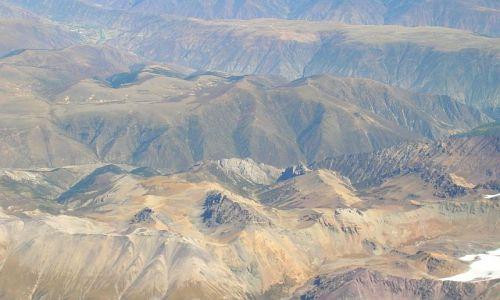 TYBET / brak / Tybet południowo - wschodni / TYbet z lotu ptaka 2