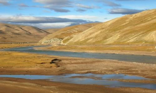 Zdjęcie TYBET / Tybet północno - wschodni / trasa kolejowa Golmud - Lhasa / Tybet 15