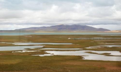 Zdjecie TYBET / Tybet północno - wschodni / trasa kolejowa Golmud - Lhasa / Tybet 16