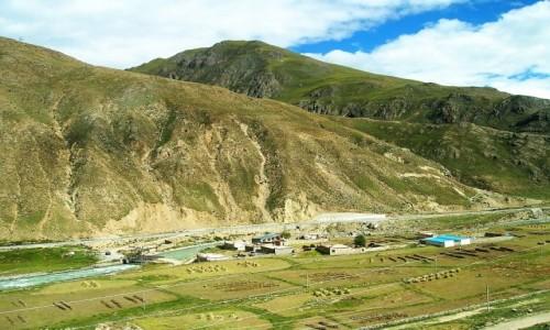 Zdjecie TYBET / Tybet północno - wschodni / trasa kolejowa Golmud - Lhasa / Tybet 18