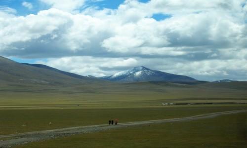Zdjecie TYBET / Tybet północno - wschodni / trasa kolejowa Golmud - Lhasa / Tybet 21