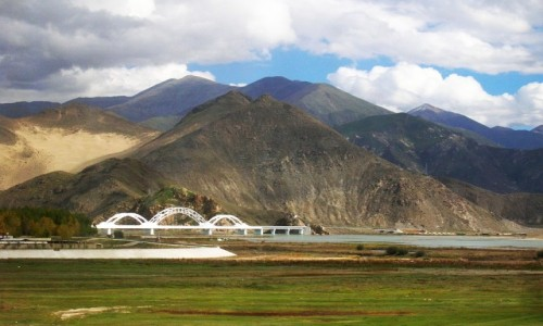 TYBET / Tybet północno - wschodni / okolice Lhasy / Tybet 21