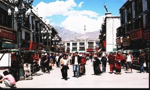 Zdjecie TYBET / Lhasa / Lhasa / Barkhor